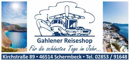 Gahlener Reiseshop